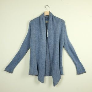 Wooden Ships Open Knit Shawl Cardigan